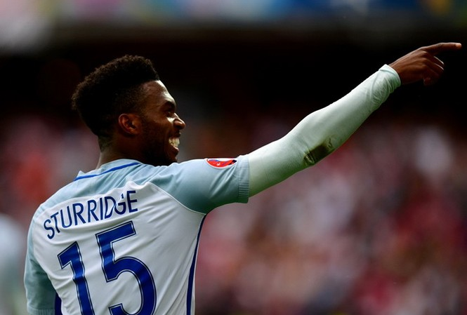 Daniel Sturridge đã ghi bàn quyết định giúp tuyển Anh chiến thắng. (Nguồn: Getty)