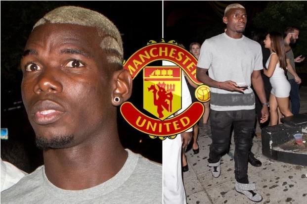 Paul Pogba trên đường gia nhập M.U.