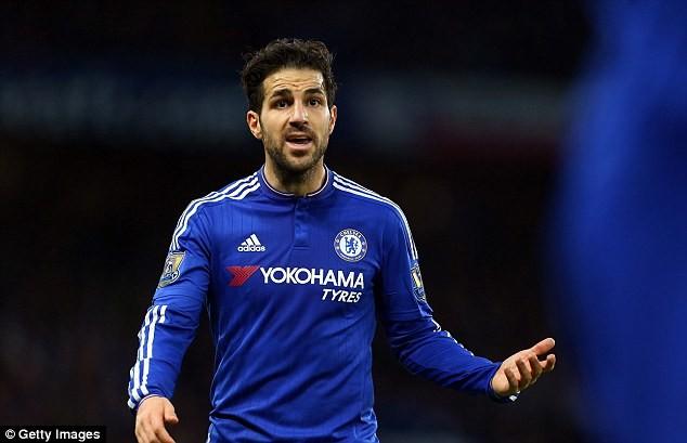 Cesc Fabregas không còn tương lai tại Chelsea.