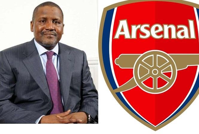 Aliko Dangote muốn thôn tính Arsenal trong vòng 3-4 năm tới.