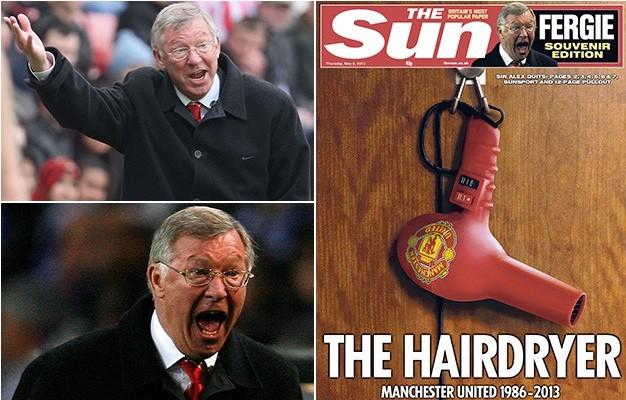 """Sir Alex Ferguson chia sẻ về biệt danh """"Máy sấy tóc""""."""