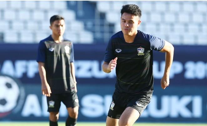 Theerathon Bunmathan sẽ lỡ trận bán kết lượt đi AFF Cup 2016 vì chấn thương.