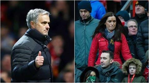 Mourinho và Ruth Mills.