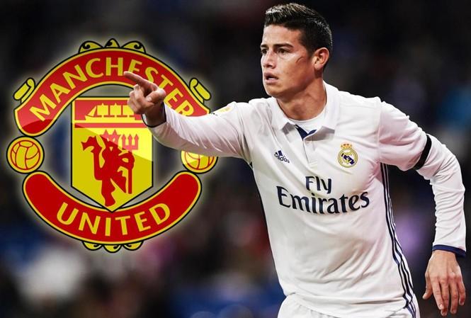 James Rodriguez chọn áo số 10 ở M.U.