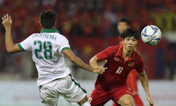 U22 Việt Nam không thể xuyên thủng mành lưới Indonesia.