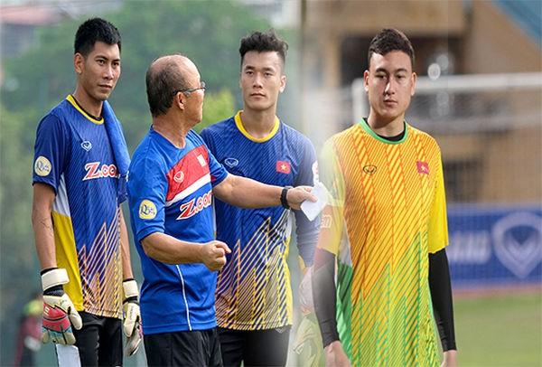 HLV Park Hang-seo sẽ phải cân nhắc rất nhiều để chọn ai bắt chính khi ĐT Việt Nam đấu ĐT Jordan.