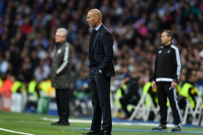 HLV Zinedine Zidane hài lòng khi Real Madrid vào chung kết.