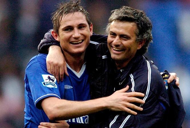 Frank Lampard và HLV Jose Mourinho còn làm việc với nhau tại Chelsea.