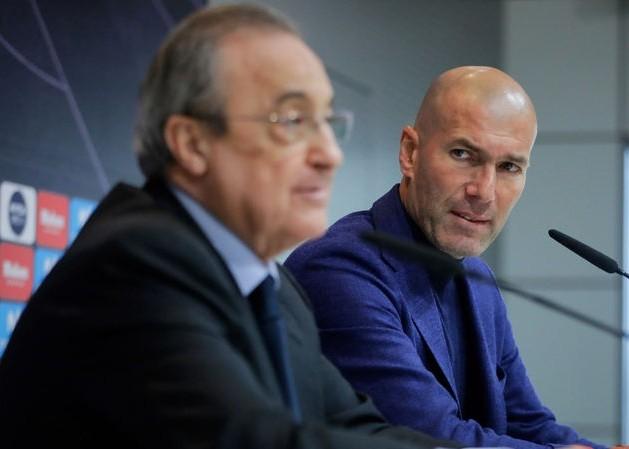 HLV Zinedine Zidane chưa hài lòng với 5 tân binh đã có.