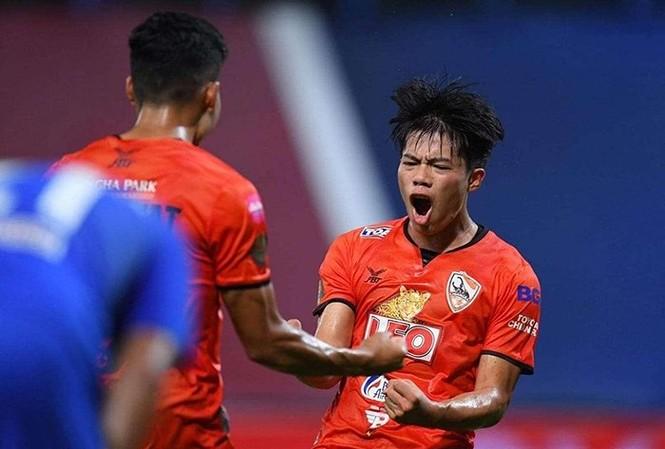 Ekanit Panya là tài năng trẻ hàng đầu bóng đá Thái Lan hiện nay.