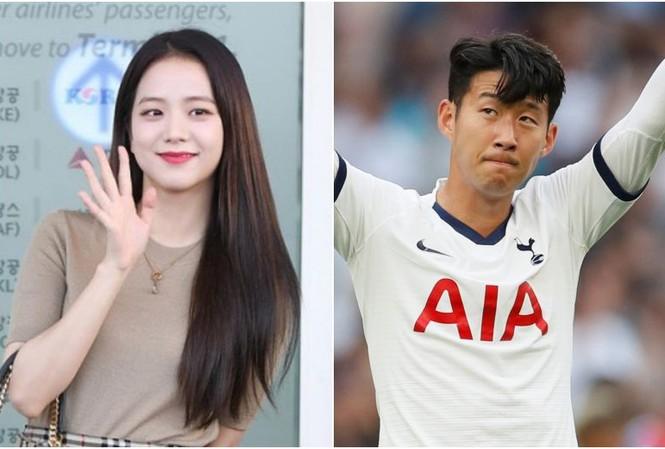 Son Heung-min và Kim Ji-soo bị đồn cặp kè với nhau.