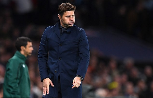 HLV Mauricio Pochettino của Tottenham.
