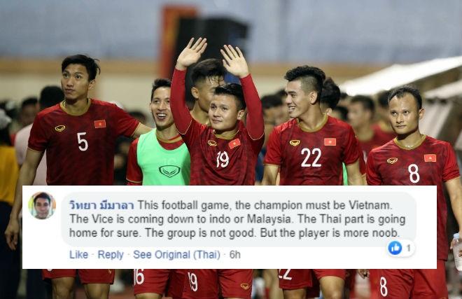 Nhiều CĐV Thái Lan tuyên bố sẽ ủng hộ U22 Việt Nam giành HCV SEA Games 30 nếu U22 Thái Lan bị loại sớm.