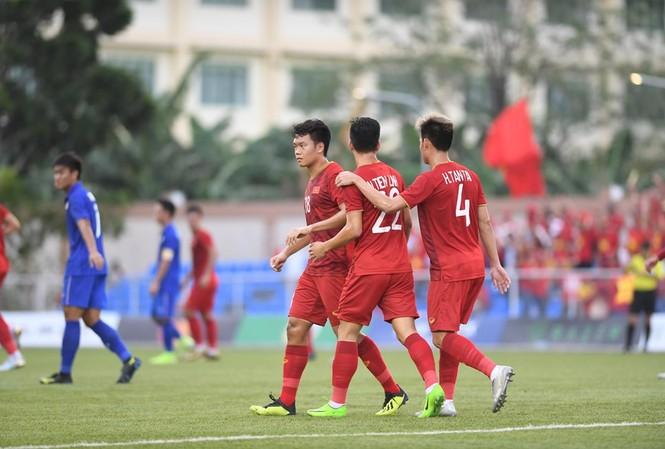 U22 Việt Nam đã loại U22 Thái Lan khỏi SEA Games 30.