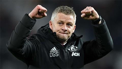 HLV Ole Gunnar Solskjaer ca ngợi các học trò sau chiến thắng trước Man City.