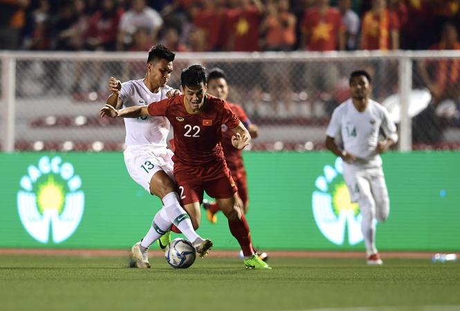 U22 Indonesia đã thất bại 1-2 trước U22 Việt Nam ở vòng bảng.