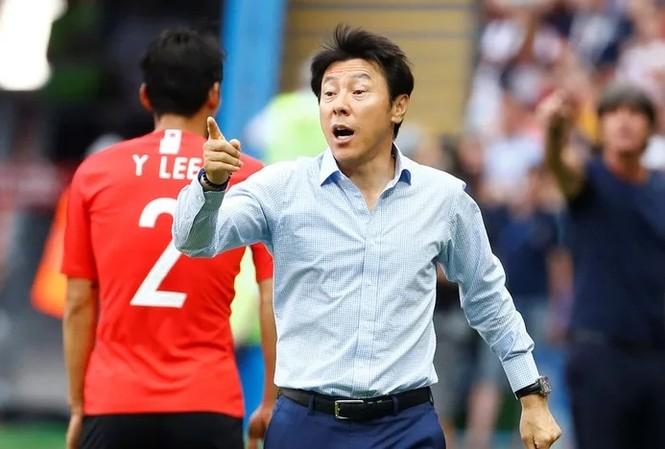 HLV Shin Tae-yong từng cùng ĐT Hàn Quốc dự World Cup 2018.