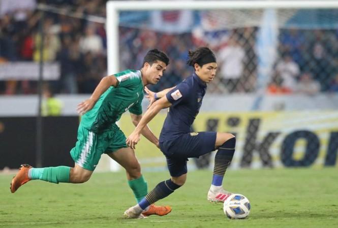 U23 Thái Lan đã có trận đấu kiên cường trước U23 Iraq.