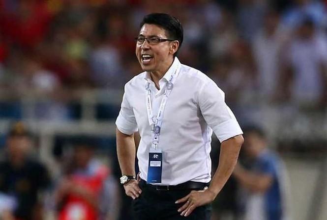 HLV Tan Cheng Hoe của đội tuyển Malaysia.