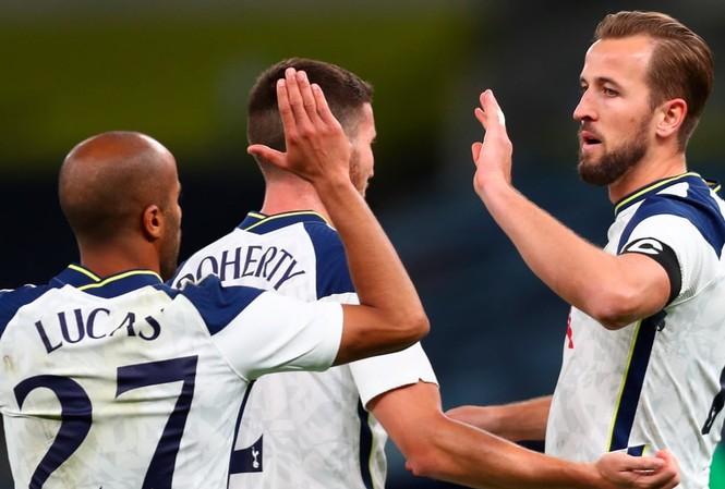 Tottenham có chiến thắng vùi dập trước Maccabi Haifa.