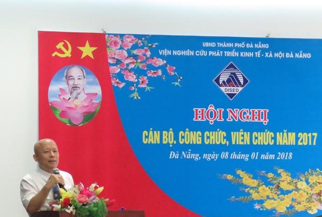 Ông Nguyễn Phú Thái. Ảnh: Viện nghiên cứu phát triển kinh tế - xã hội Đà Nẵng