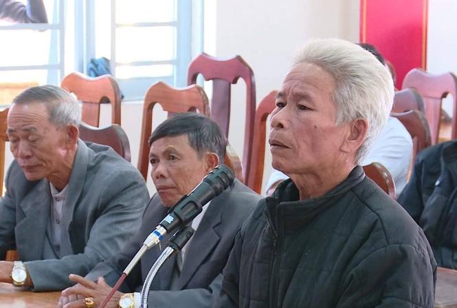 Bị cáo Dương Văn Chít tại phiên tòa.