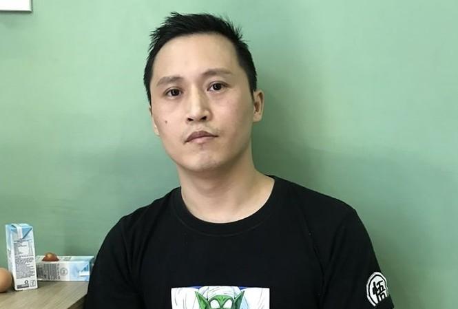Đối tượng Xu Yuan (quốc tịch Trung Quốc) vừa bị công an Đà Nẵng bắt. Ảnh : CA