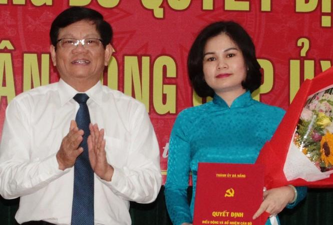 Bà Lê Thị Mỹ Hạnh vừa được bổ nhiệm làm Trưởng ban Nội chính Thành ủy Đà Nẵng
