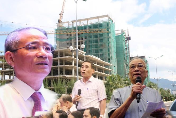 Ông Trương Quang Nghĩa, Bí thư Thành uỷ Đà Nẵng trả lời ý kiến cử tri liên quan đến vụ án 20 cựu cán bộ, lãnh đạo Đà Nẵng và dự án Đa Phước. Ảnh: Nguyễn Thành