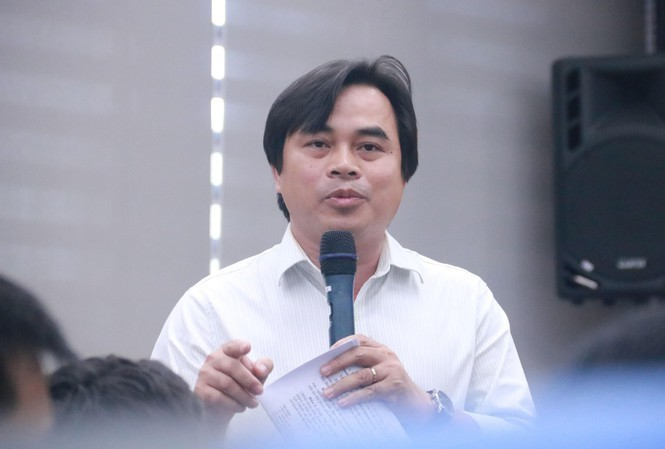 Ông Tô Văn Hùng, Giám đốc sở Tài nguyên và Môi trường TP Đà Nẵng. Ảnh: Nguyễn Thành.