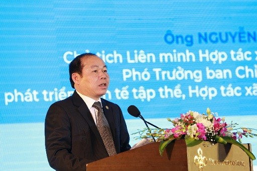 Chủ tịch Liên minh HTX Việt Nam Nguyễn Ngọc Bảo