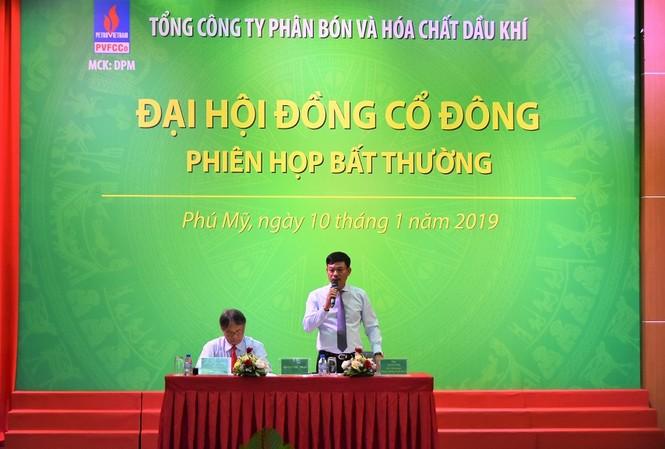 Ông Nguyễn Tiến Vinh trở thành tân Chủ tịch HĐQT, còn ông Lê Cự Tân làm Tổng giám đốc Tổng công ty Phân bón và Hóa chất Dầu khí (PVFCCo)