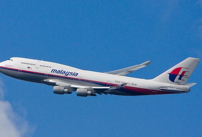 Một chiếc máy bay của hãng Hàng không Malaysia.