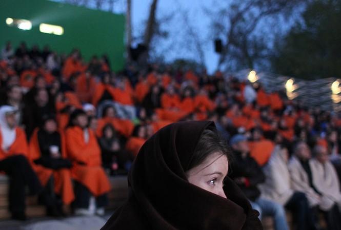 Những người vô gia cư ở Moscow, Nga sẽ được phục vụ xem phim và đồ ăn miễn phí