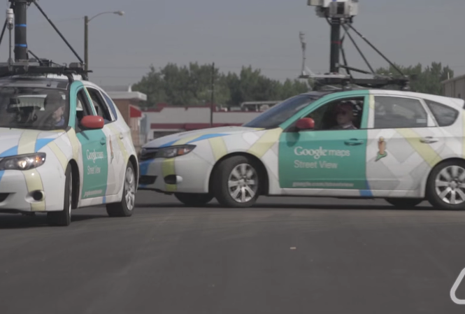 Những chiếc xe của Google được trang bị cảm biến môi trường của Aclima.