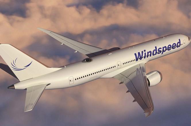 Hình ảnh mô phỏng cho thấy ghế ngồi được đặt trong mái vòm trong suốt trên nóc máy bay.