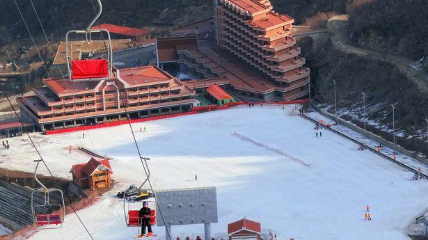 Khu trượt tuyết Masikryong của Triều Tiên