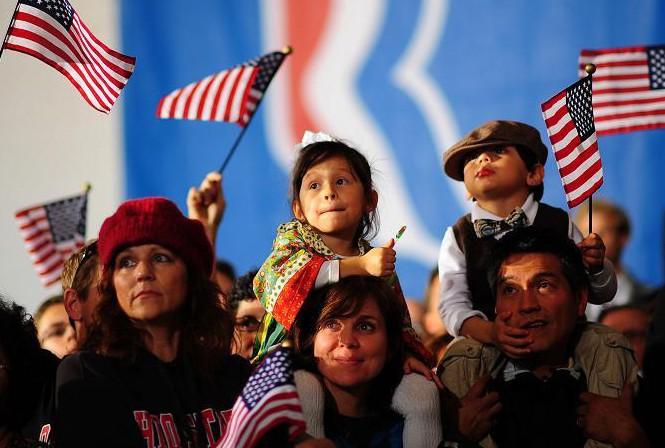 Nước Mỹ sắp bước vào cuộc bầu cử lịch sử