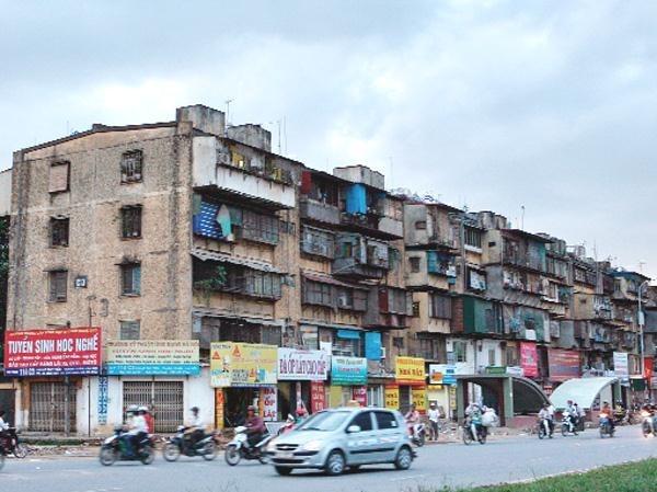 Cải tạo chung cư cũ  trên địa bàn Hà Nội vẫn là bài toán khó