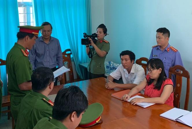 Cơ quan điều tra thực hiện lệnh bắt ông Phạm Thanh Thái