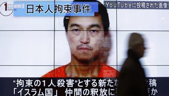 Con tin Kenji Goto . Ảnh: Reuters