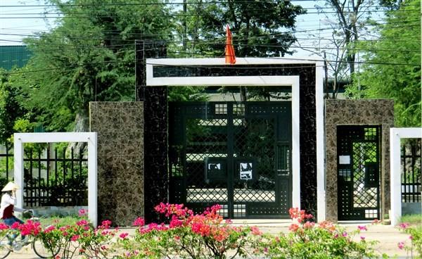 Căn biệt thự của gia đình ông Lê Văn Mỹ vào sáng ngày 18/12.
