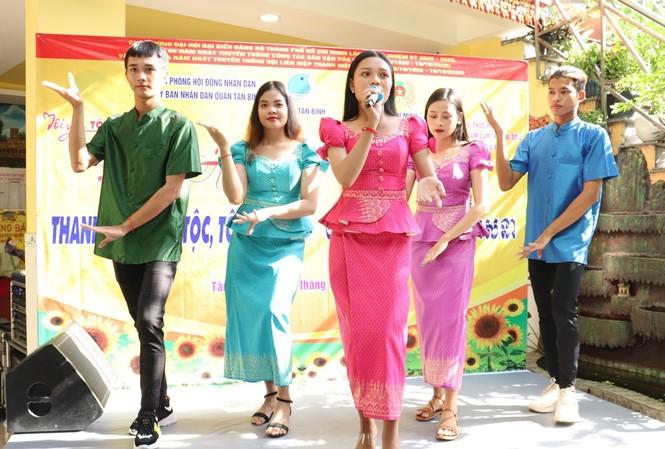 Nhiều hoạt động chăm lo tại ngày hội Thanh niên các dân tộc, tôn giáo
