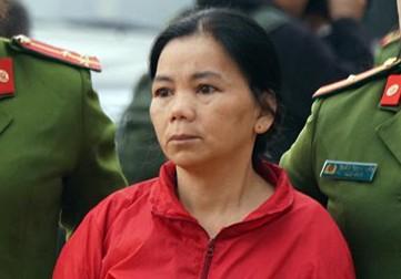 Bị cáo Bùi Thị Kim Thu.