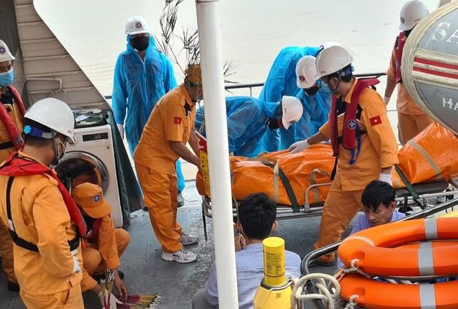 Tìm thấy xác tàu cá bị đâm chìm trên biển Hải Phòng