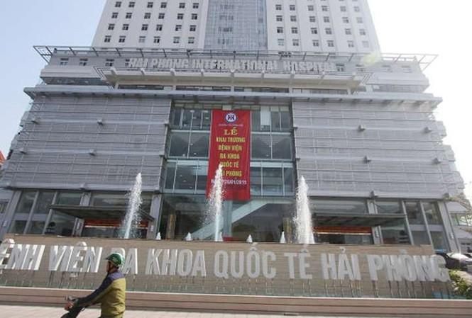 Bệnh viện Đa khoa quốc tế Hải Phòng.