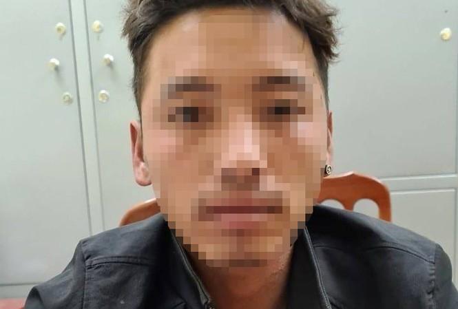 Đối tượng Phạm Xuân Nguyên tại cơ quan công an.