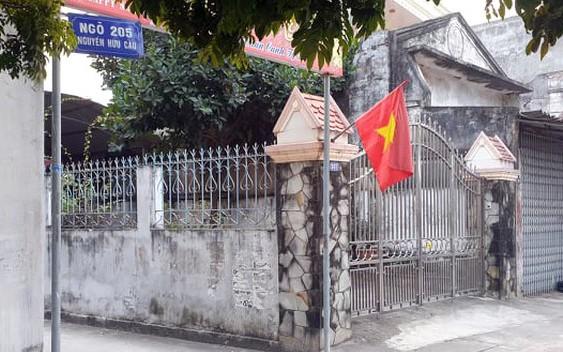 Khu phố là nơi ở của cựu thiếu tá Nguyễn Hữu Cường.