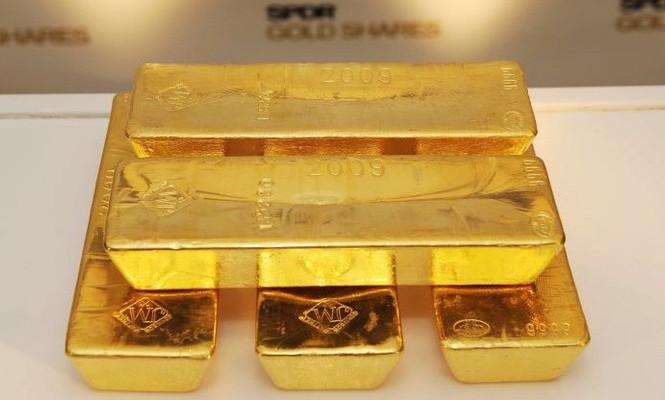 Cuối tuần, vàng giảm giá do thương chiến Mỹ Trung hạ nhiệt. ảnh minh hoạ