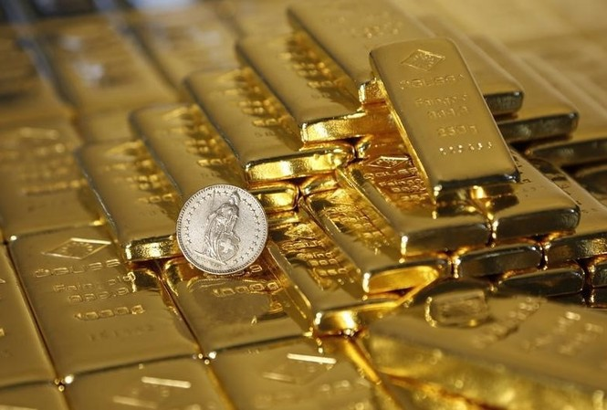 Giá vàng vọt lên đỉnh trước thềm năm mới. ảnh minh hoạ